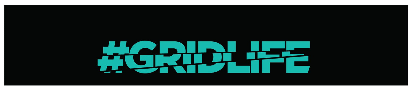 GRIDLIFE - WINDOW BANNER