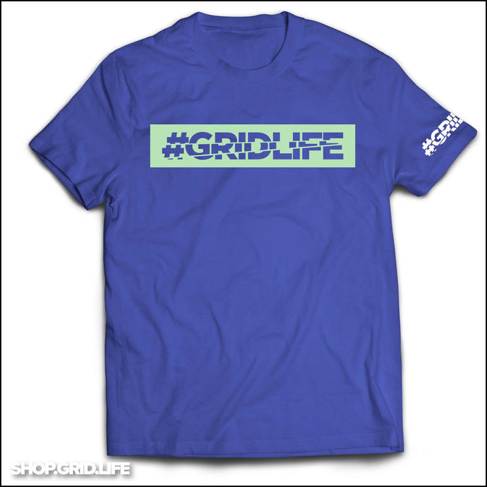 GRIDLIFE - BOX LOGO - Blue & Mint