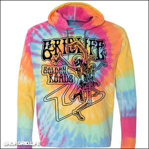 #GRIDLIFE Golden Roads Tie Dye