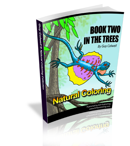 In The Trees Coloring Book 2 - Fashionura