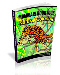 Mammals Coloring Book 4 - Fashionura