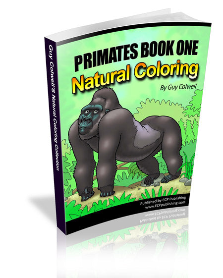 Primates Coloring Book 1 - Fashionura