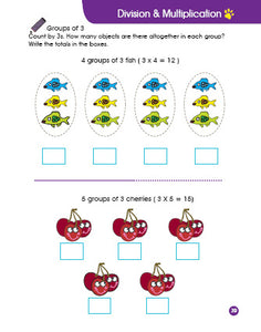 Cheekie Learning Multiplication & Division Workbook - Fashionura