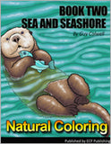 Natural Coloring Book Set - 17 Coloring Books - Fashionura