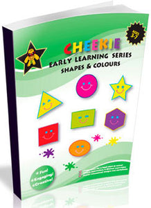 Cheekie Learning Shapes & Colors Workbook - Fashionura