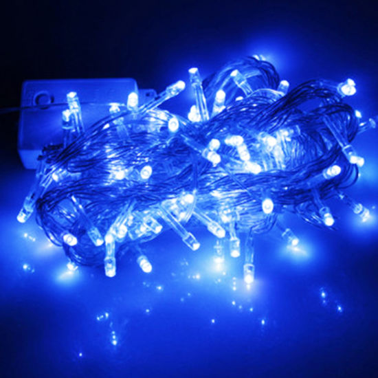 8 Modes - 10 Meter 100 Led Fairy String Light Power Point , Blue