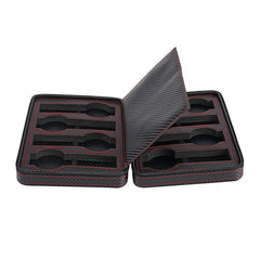 8 Slots Full Carbon Fiber Travel Watch Holder.