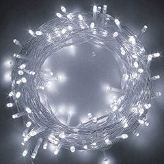 Static Mode - 10 Meter 100 Led Fairy String Light Power Point , Pure White