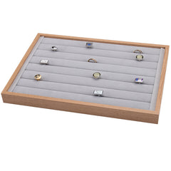 Ring Wooden Jewelry Storage Tray