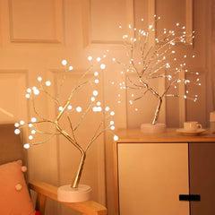 Decorative Led Tree Desk Lamp, 2 Models to choose from