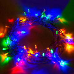 5 Meter 50 Led Battery Operated String Light - Multi - Starzdeals