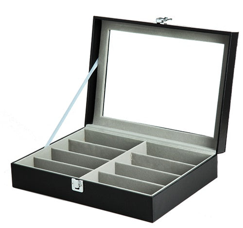 8 Slots Inner Gray Spectacles Box.