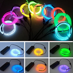 Battery Operated - 3 Meters Neon Lights, 2 Colors Available