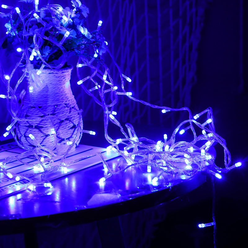 5 Meter 50 Led Battery Operated String Light - Blue