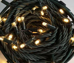 Fully Out Door 10 Meters 100 Led Black Rubber Fairy String Lights