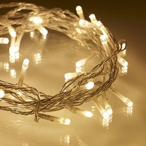 20 Meter 200 Led Battery Operated Fairy String Light - Warm White.