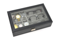 6 Slot Watch + 3 Spectacles Storage Box - Starzdeals