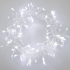 10 Meter 100 Led Battery Operated Fairy String Light , Pure White.