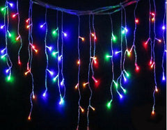 8 Modes - 3 Meter 188 Led Fairy Curtain Lights Power Point, Multi
