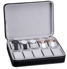 Classic 10 Slots Travel Watch Holder