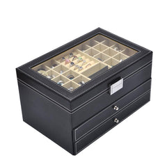 3 Tier Black 4 Drawers  - Jewelry Storage Box Series 2
