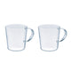 Straight Mug -  2 cups Set