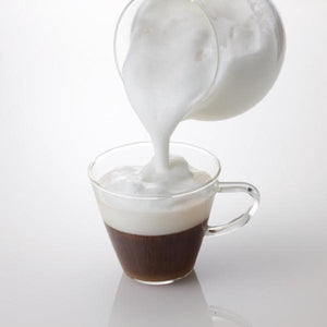 "Creamer ""Qto"" with Glass Bowl"