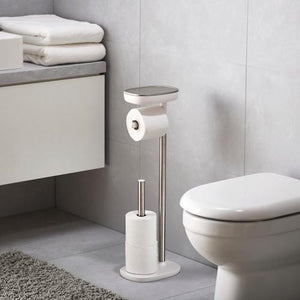EasyStore Standing Toilet Paper Holder