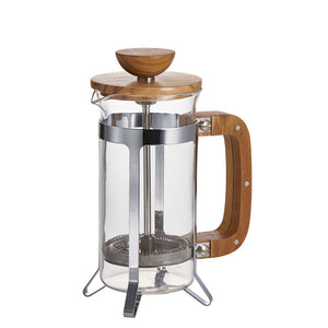 Café Press Wood Coffee French Press