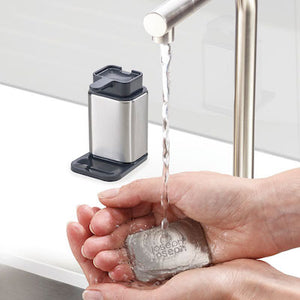 Surface Stainless-Steel Soap Pump and Bar