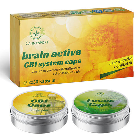 CANNASPORT® brain active CB1 system caps