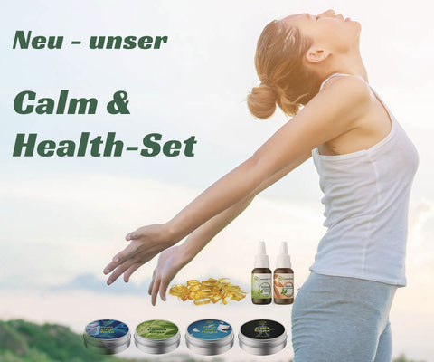 Cannasport® Special: Calm & Healthy-Set