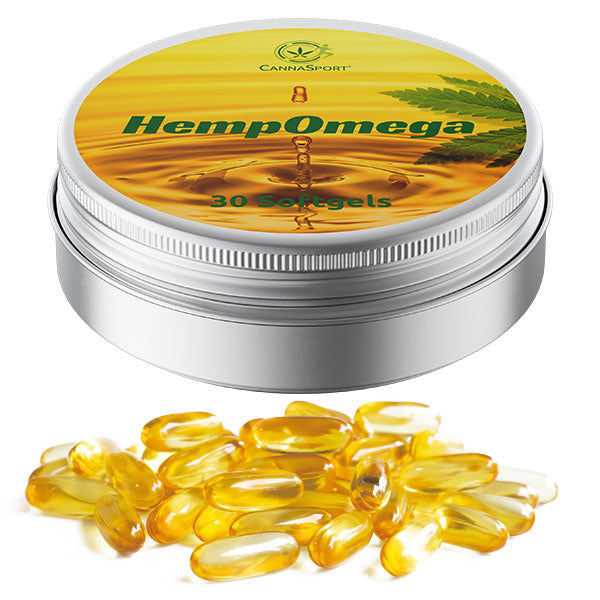 Cannasport HempOmega 3 Softgels