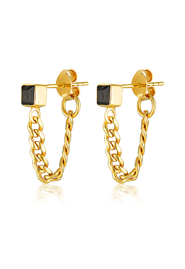 ISOLDE CHAIN EARRING