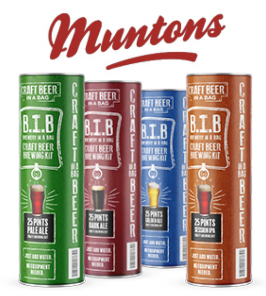 Muntons Brewery in a Bag (B.I.B)