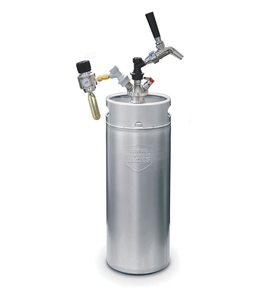 Mangrove Jack's Complete Mini Keg Dispensing Kit - 10 L