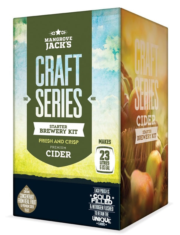 Mangrove Jack's Craft Series Apple Cider Starter Brewery Kit