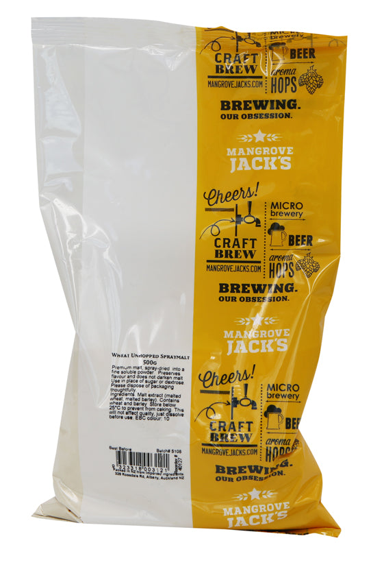 Mangrove Jack's Wheat Unhopped Spraymalt 500g