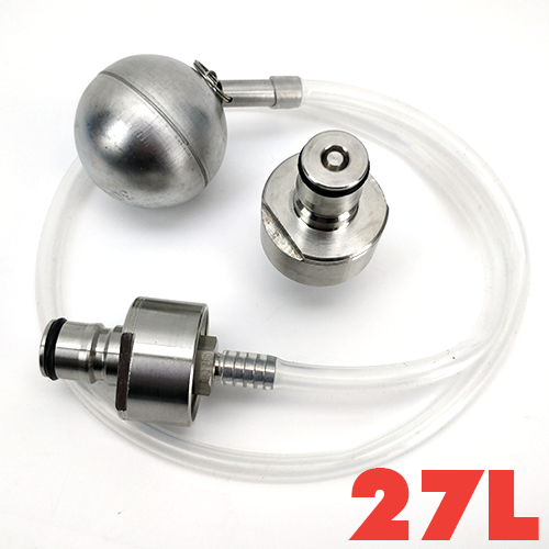 FERMZILLA 27L - STAINLESS STEEL PRESSURE KIT