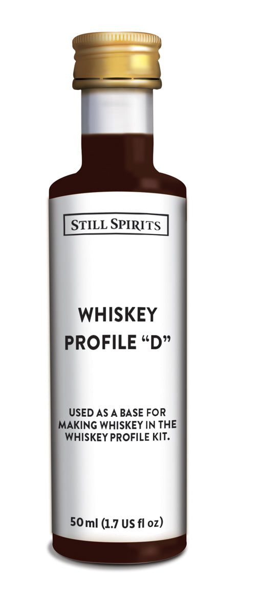 "Top Shelf Whiskey Flavouring Profile ""D"""