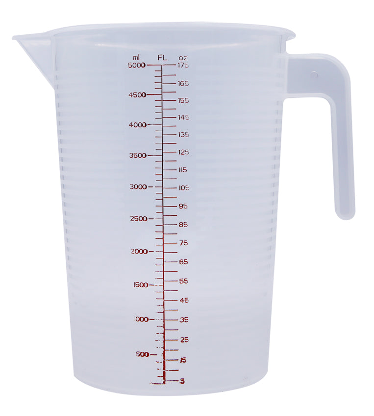 Plastic Measuring Jug - 5L  (NZ made)
