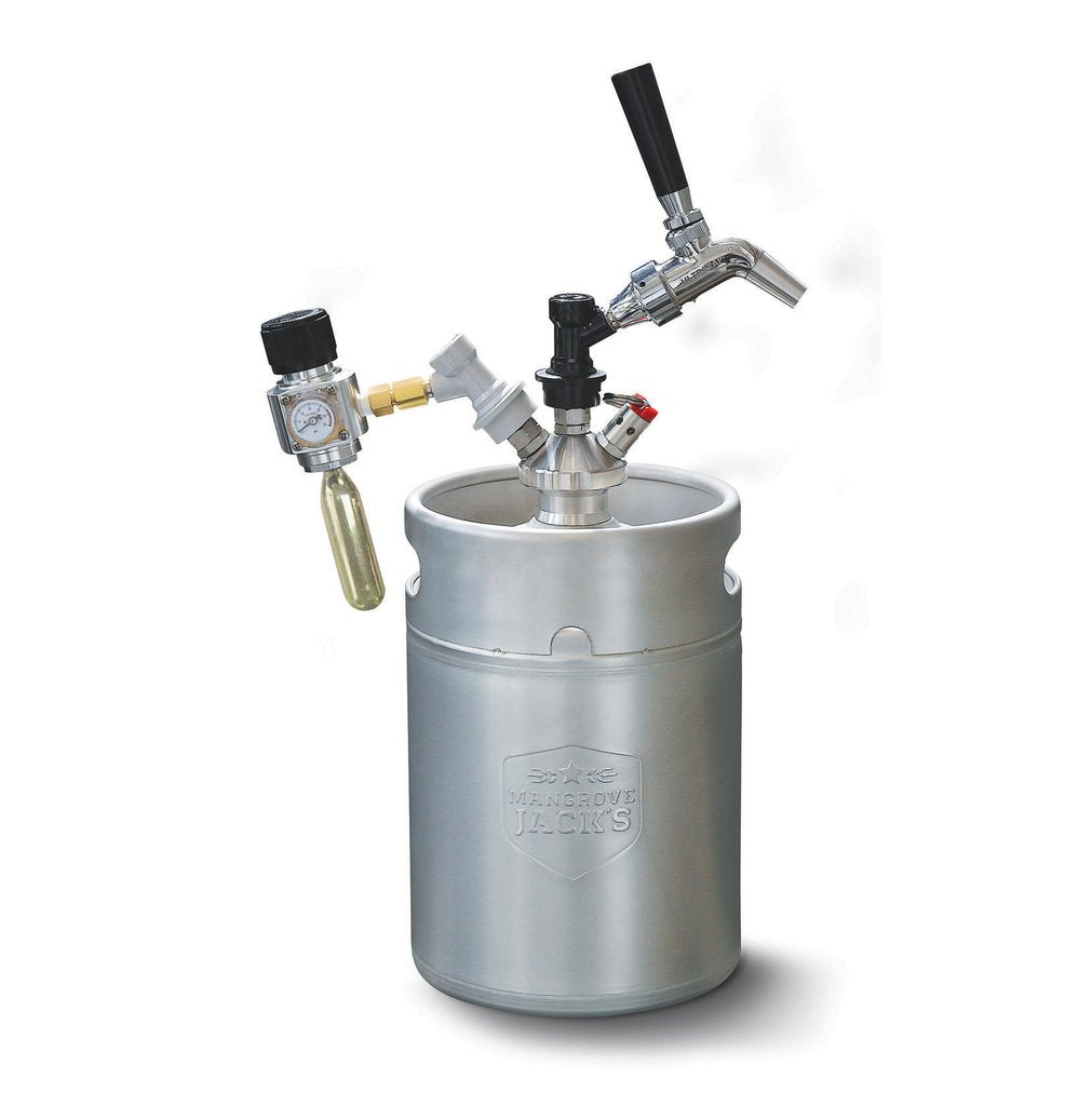 Mangrove Jack's Complete Mini Keg Dispensing Kit - 5 L