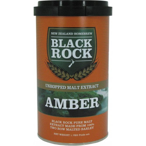 Black Rock Unhopped Amber LME - 1.7kg