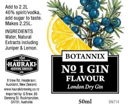 Spirits Unlimited Botannix No.1 Gin Flavour - 50ml