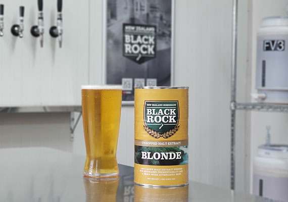 Black Rock Unhopped Blonde LME - 1.7kg