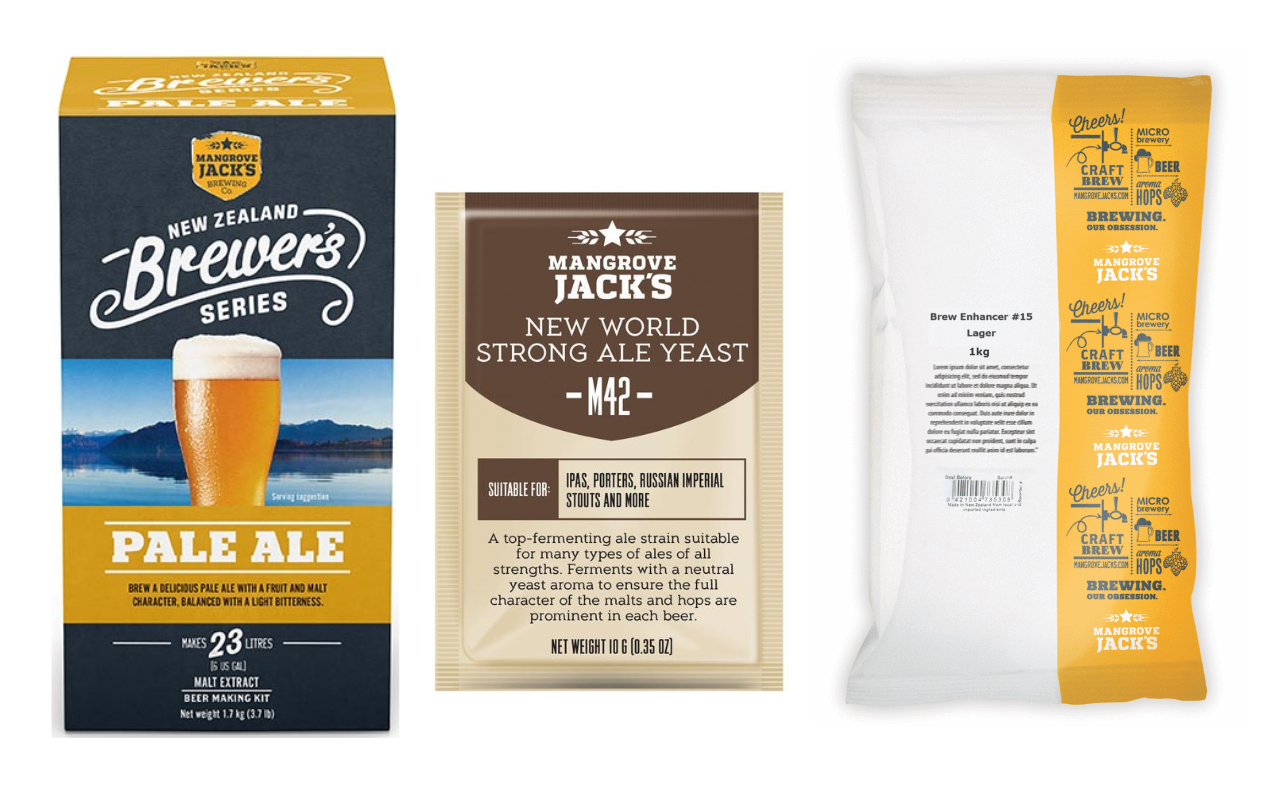 Mangrove Jack's Coopers Pale Ale Clone