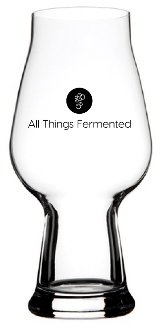All Things Fermented Glasses - One IPA & One Pilsner - 540ml