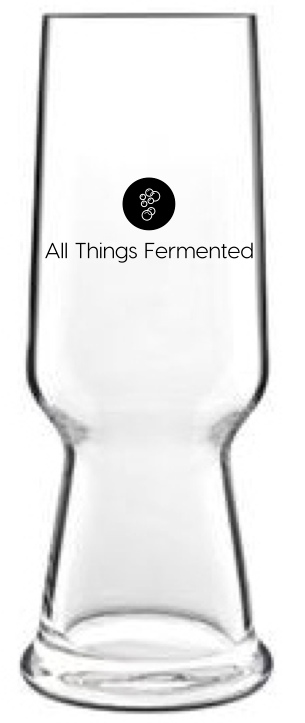 All Things Fermented Pilsner Glass - 540ml - Set of Two