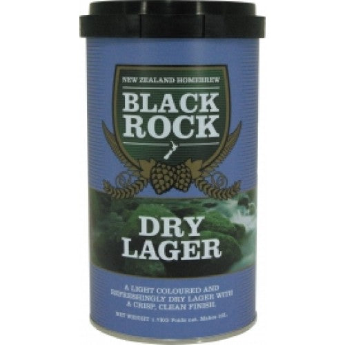Black Rock Dry Lager Kit 1.7kg