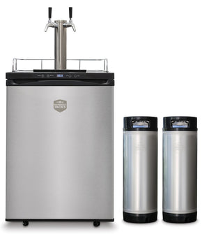 Mangrove Jack's 2 Tap (forward sealing) Kegerator with kegs